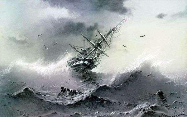 沉船   伊万艾瓦佐夫斯基
