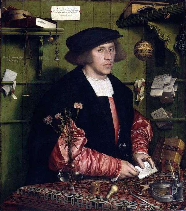 GeorgGuissé的肖像   Hans Holbein