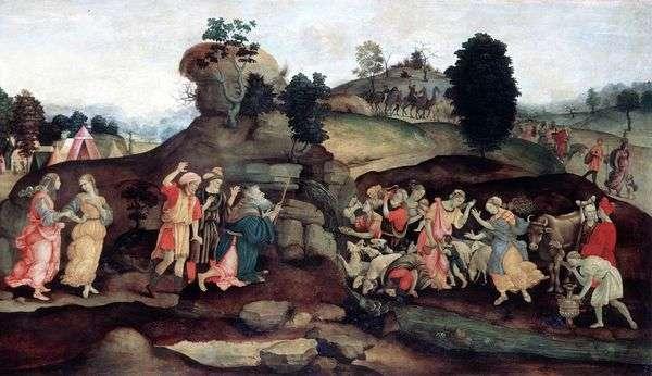 摩西从岩石中采矿水   菲利皮诺里皮