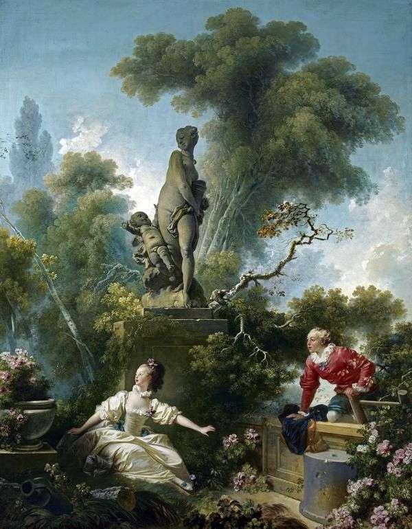 会议   Jean Honore Fragonard