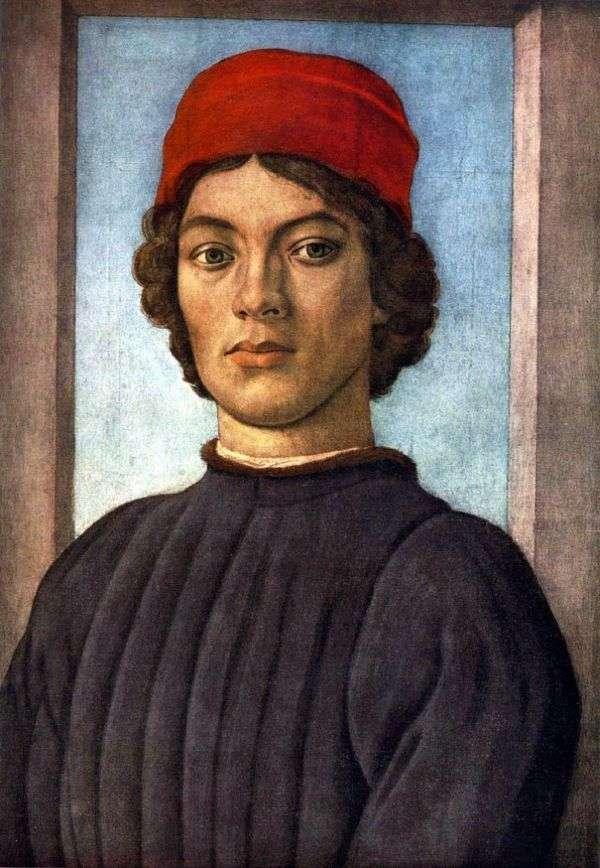 一个年轻人的画象   Filippino Lippi