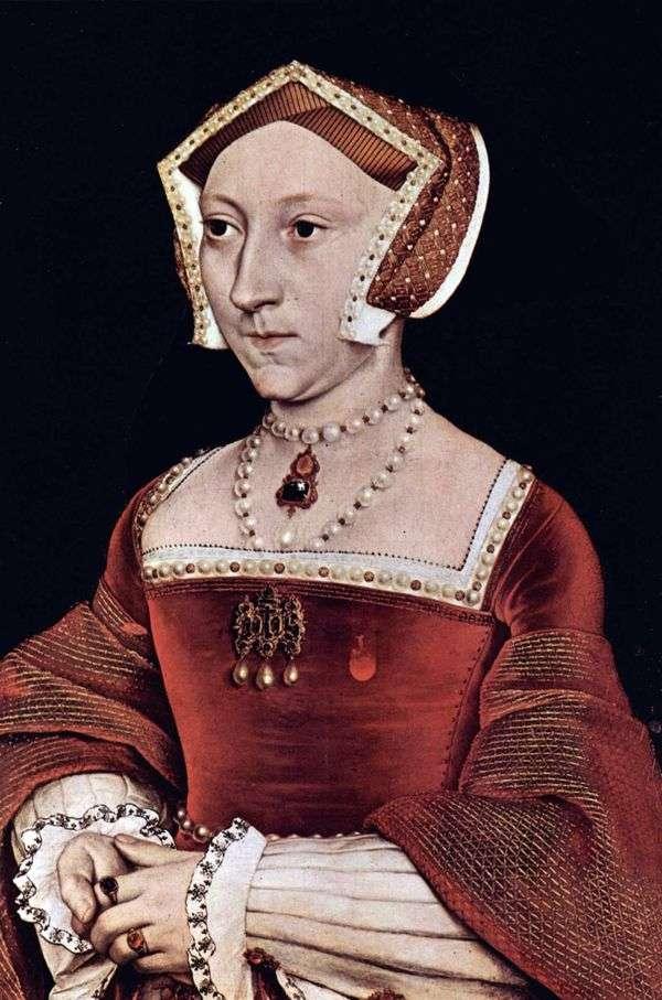 Jane Seymour的肖像   Hans Holbein