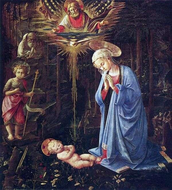 崇拜圣伯纳德和婴儿施洗约翰   弗雷菲