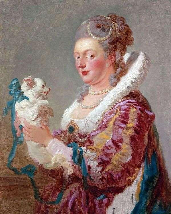 有狗的夫人   吉恩Honore Fragonard