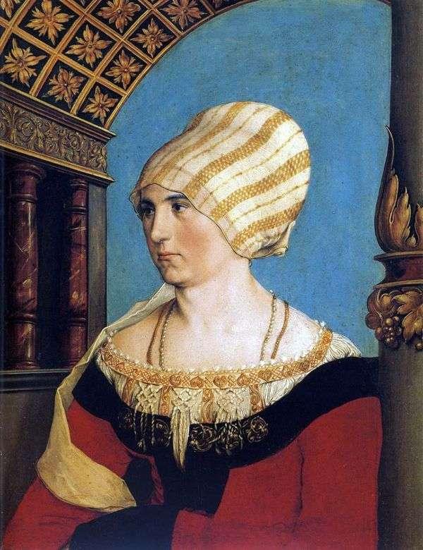Dorothea Kannengisser的肖像   Hans Holbein