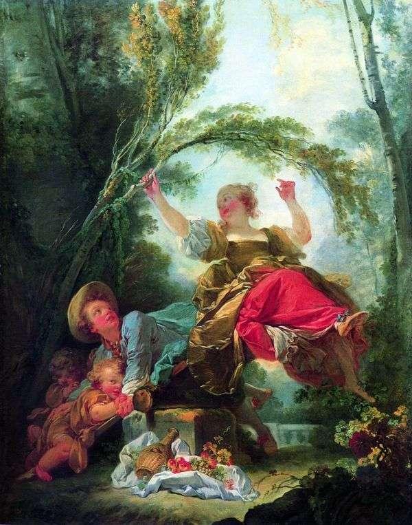 儿童秋千   Jean Honore Fragonard