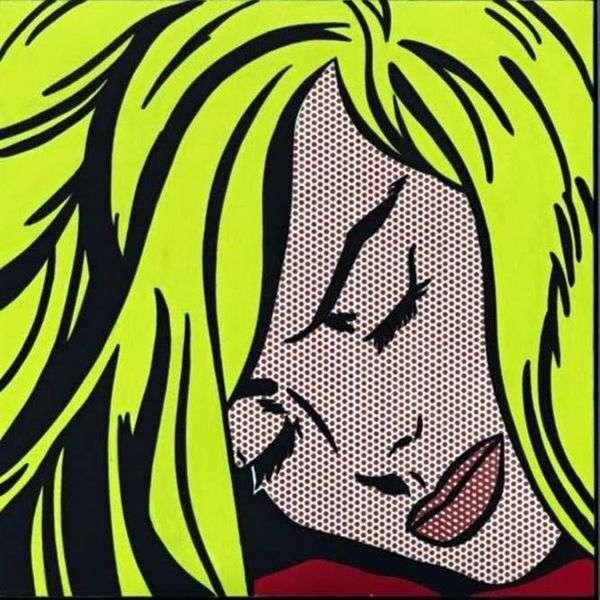 睡觉的女孩   罗伊Lichtenstein