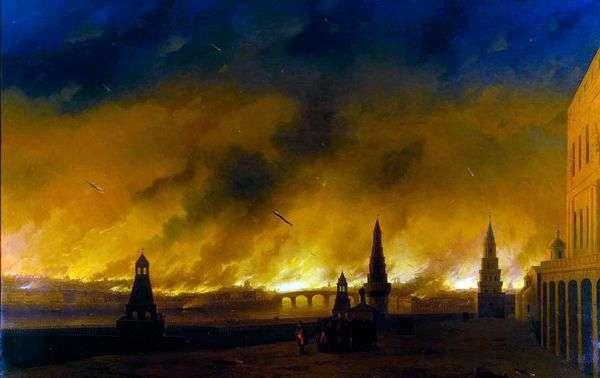 1812年莫斯科之火   伊万 艾瓦佐夫斯基