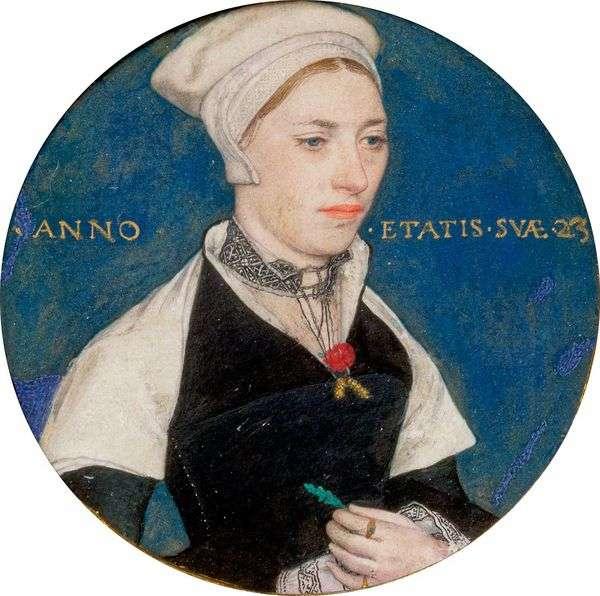 彭伯顿夫人的肖像   汉斯霍尔宾
