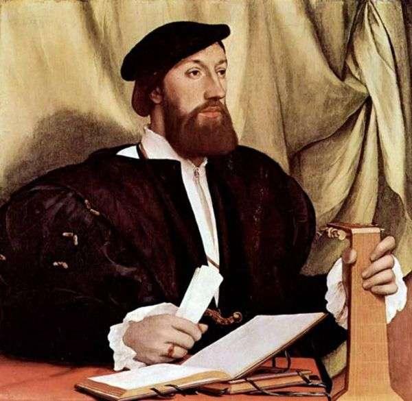 琵琶男人的肖像   汉斯霍尔拜因