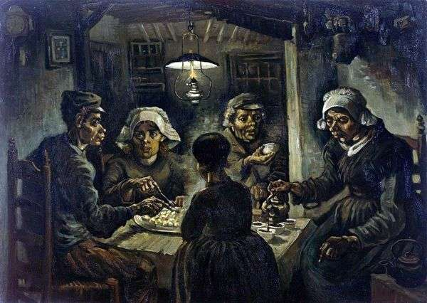 马铃薯食客   文森特梵高