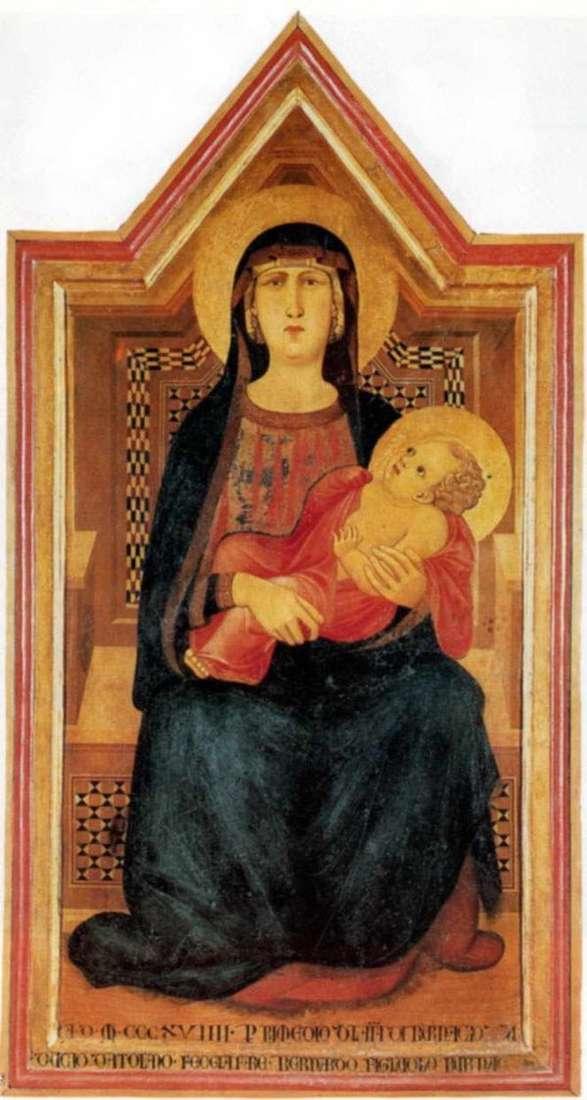 Vico lAbate的麦当娜   Pietro Lorenzetti