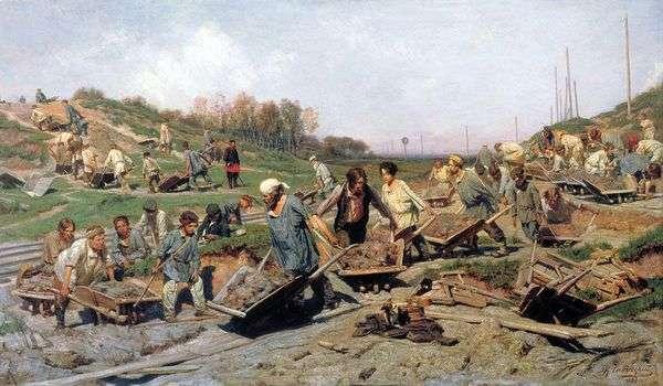 铁路维修工作   康斯坦丁萨维茨基