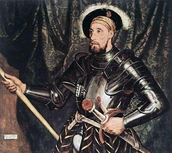 尼古拉斯卡鲁爵士的肖像   汉斯霍尔拜因