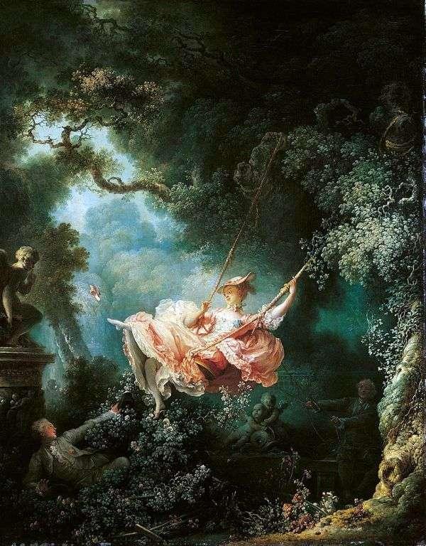 Swing   Jean Honore Fragonard