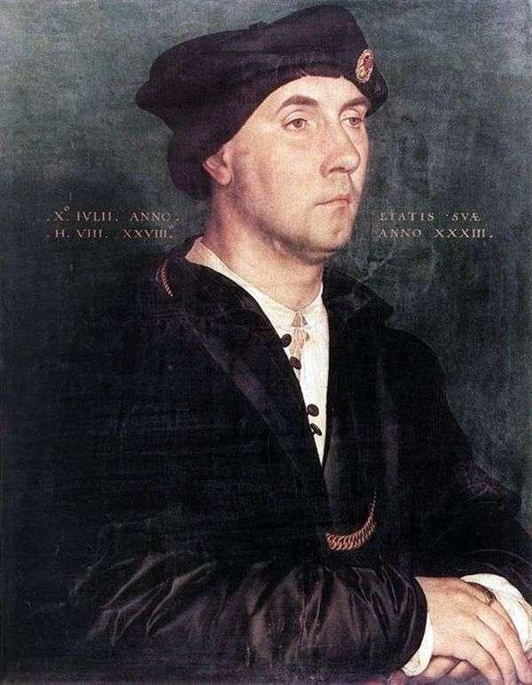 Richard Southwell爵士的肖像   Hans Holbein