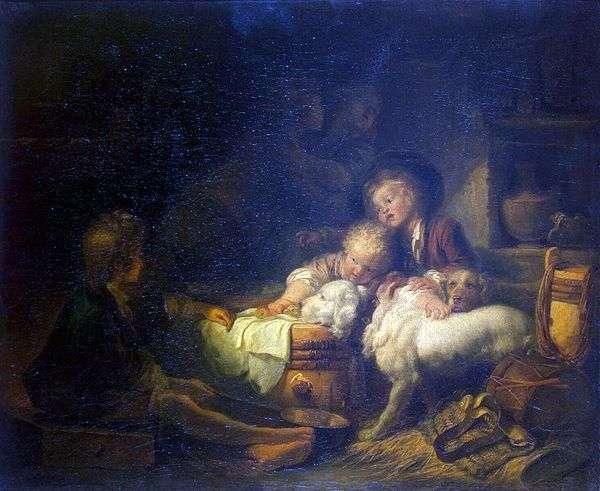 农民子女   Jean Honore Fragonard