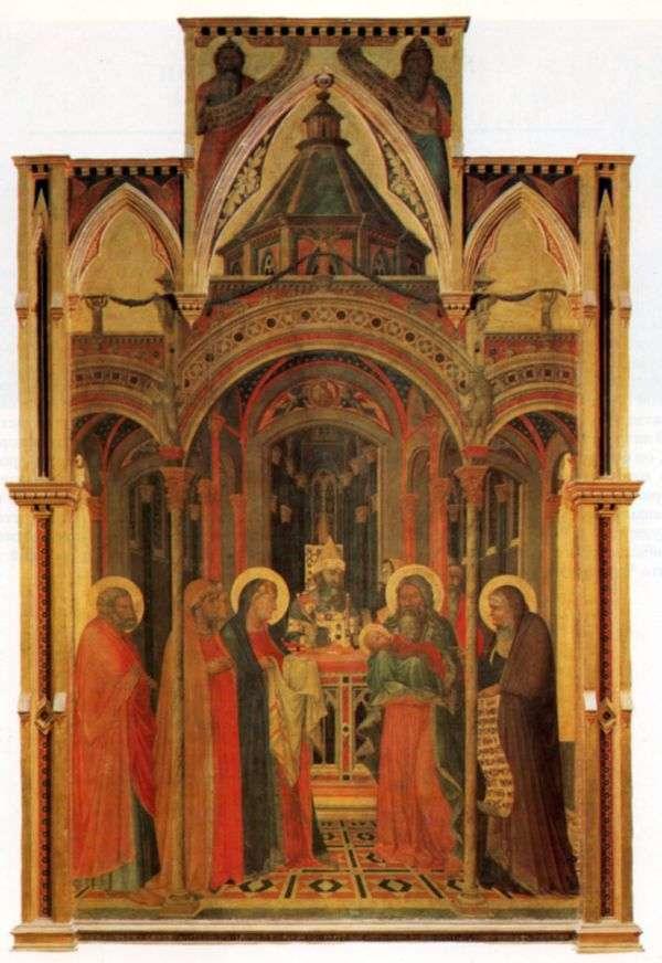 圣烛节   Pietro Lorenzetti