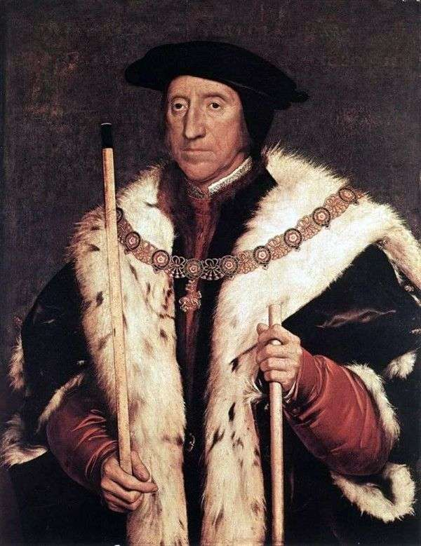 诺福克公爵托马斯霍华德的肖像   汉斯霍尔拜因