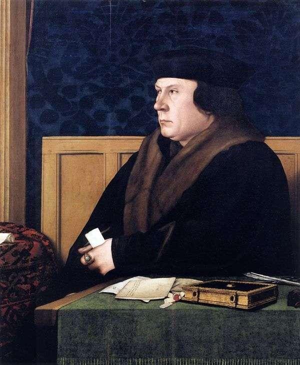 Thomas Cromwell的肖像   Hans Holbein
