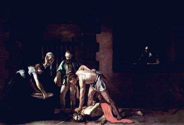 施洗约翰的斩首   米开朗基罗梅里西达卡拉瓦乔