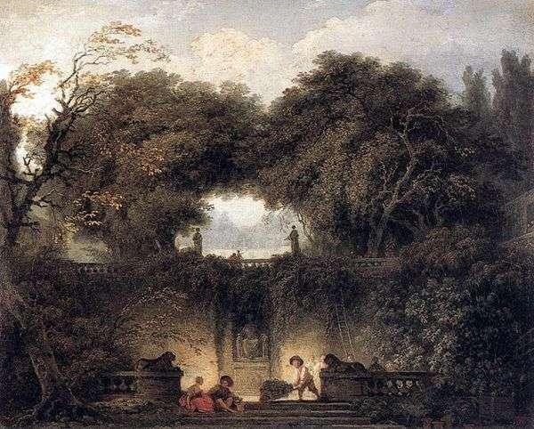小公园   Jean Honore Fragonard