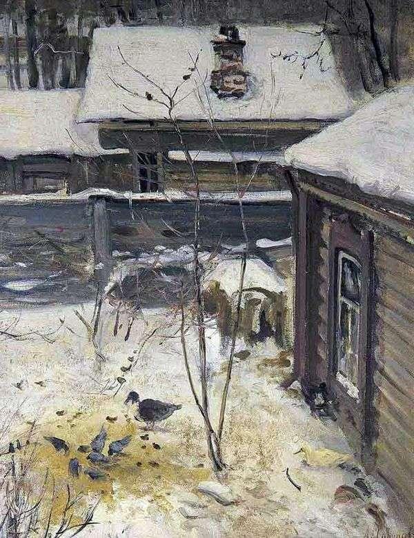 天井。冬天   阿列克谢萨维拉索夫
