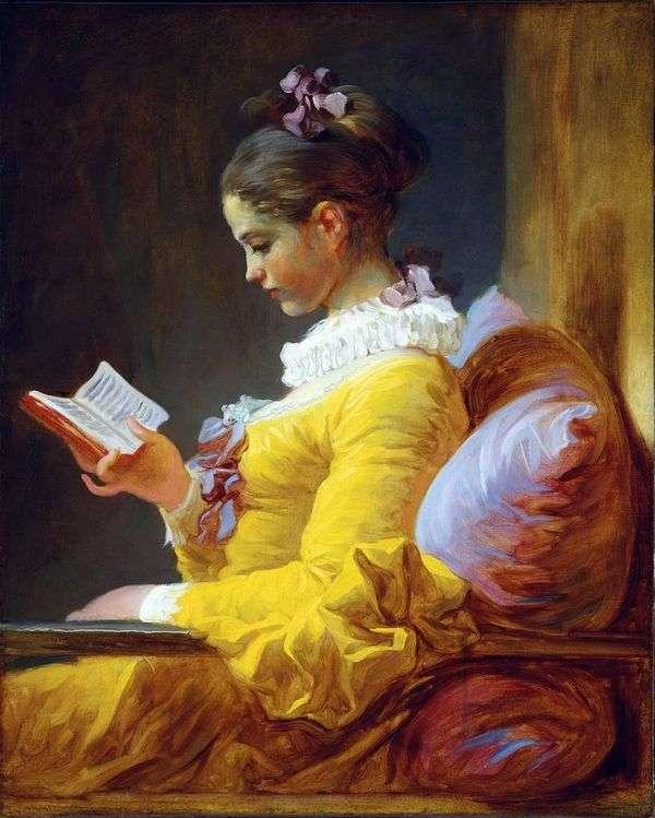 年轻读者   Jean Honore Fragonard
