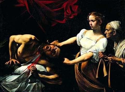 朱迪思杀死了Holofernes   Michelangelo Merisi da Caravaggio
