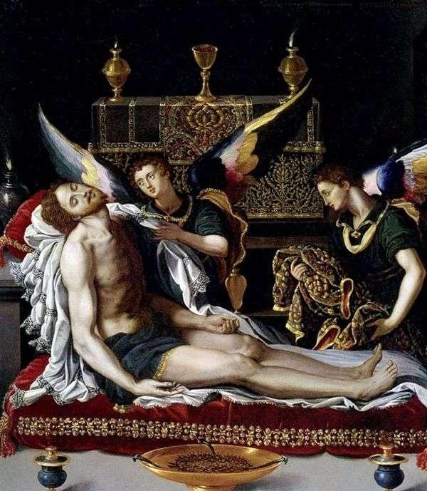 基督身上的两位天使   亚历山德罗 阿罗里
