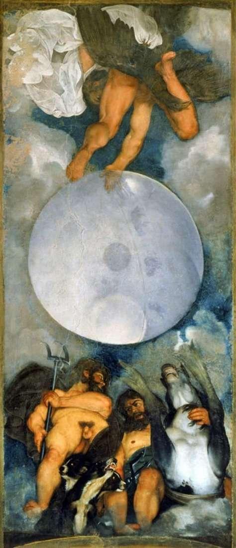 木星,海王星和冥王星   米开朗基罗梅里西达卡拉瓦乔