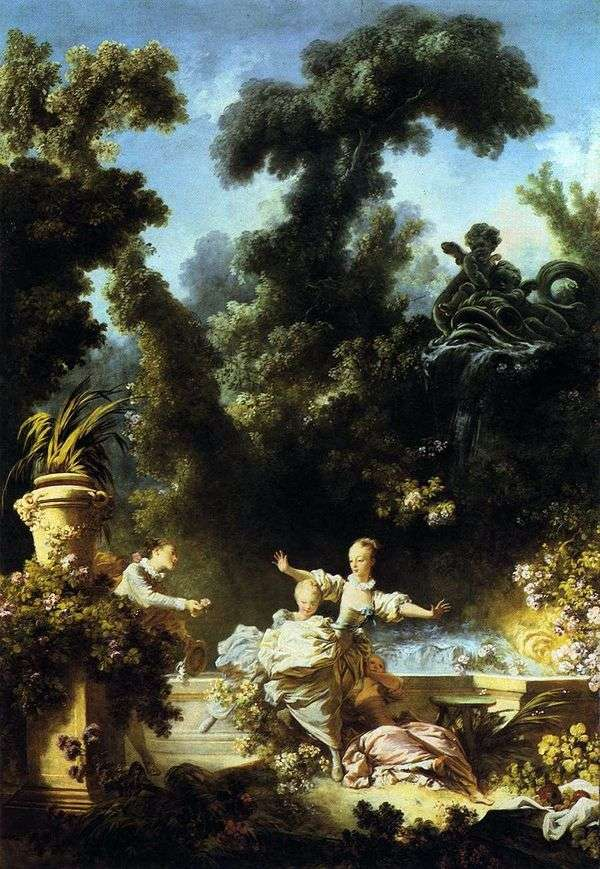 Chase   Jean Honore Fragonard