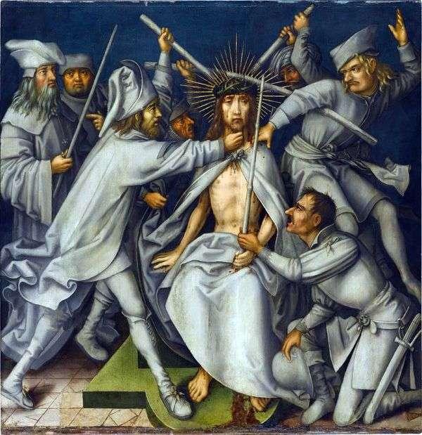 基督的羞辱   汉斯霍尔宾