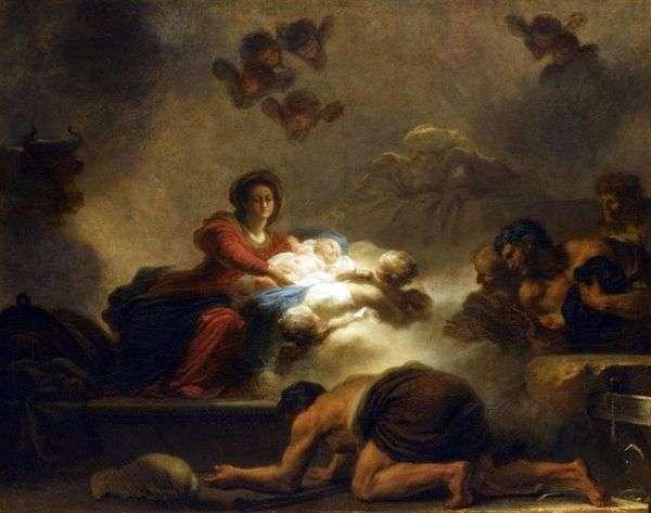 对牧羊人的崇拜   Jean Honore Fragonard