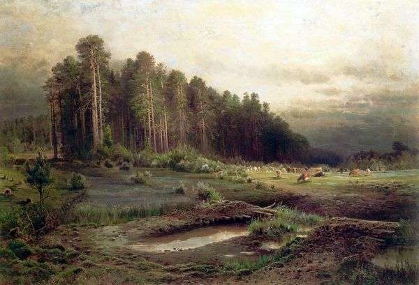 索科尔尼基的麋鹿岛   阿列克谢萨夫拉索夫