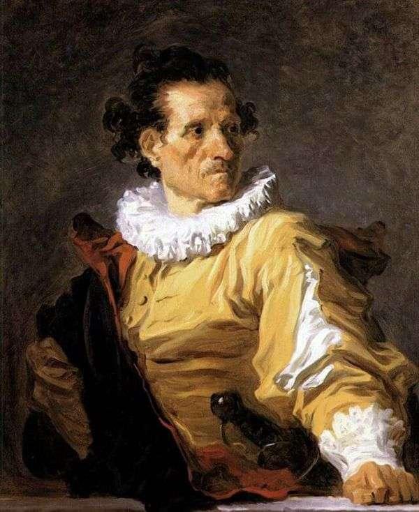 战士的画象   吉恩Honore Fragonard
