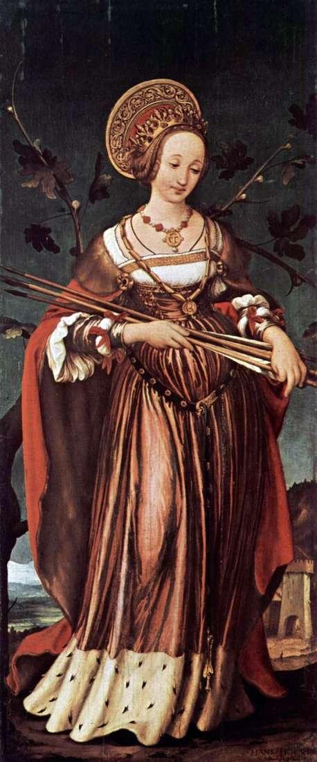 圣厄秀拉   汉斯霍尔拜因