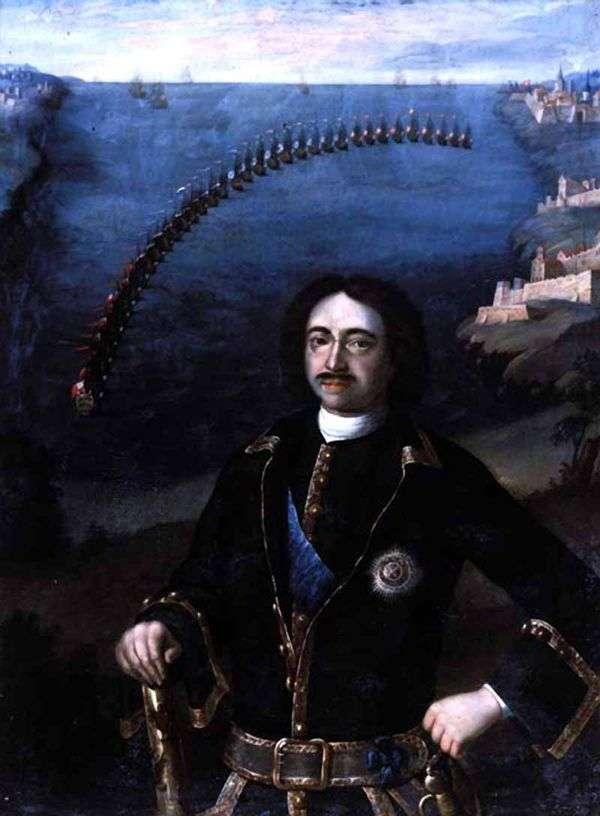Peter I   Louis Caravaque的肖像