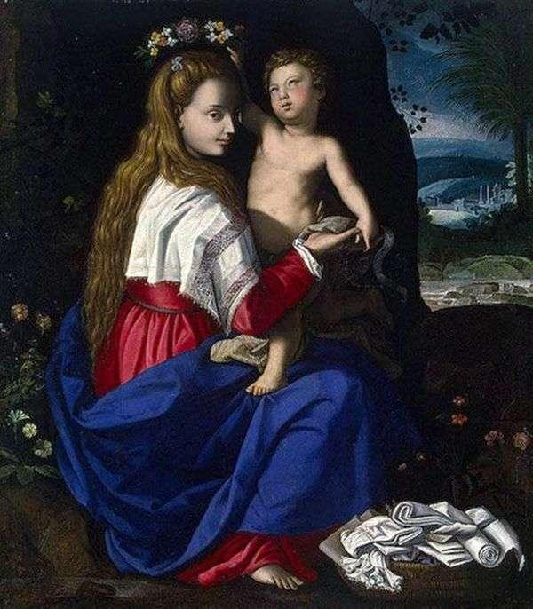 麦当娜和儿童   Alessandro Allori