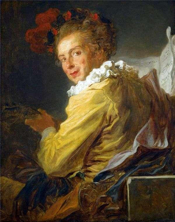 Louis Richard de La Brethes的肖像   Jean Honore Fragonard