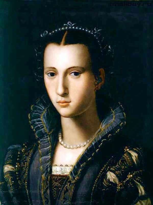 佛罗伦萨夫人的肖像   Alessandro Allori