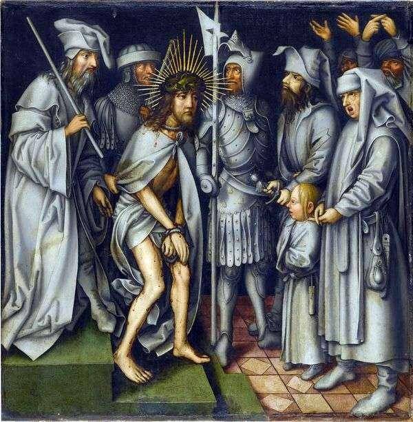 在该亚法之前的基督   汉斯霍尔拜因