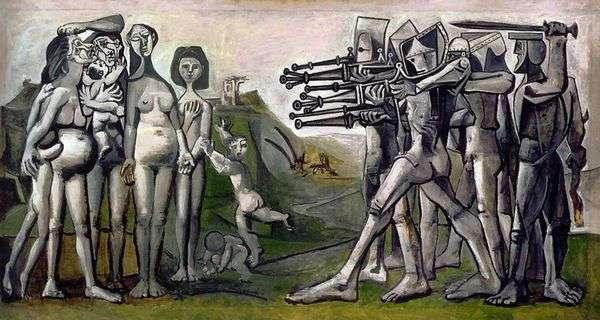 韩国大屠杀   巴勃罗毕加索