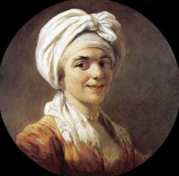 玛丽娜安娜弗拉戈纳夫人的肖像