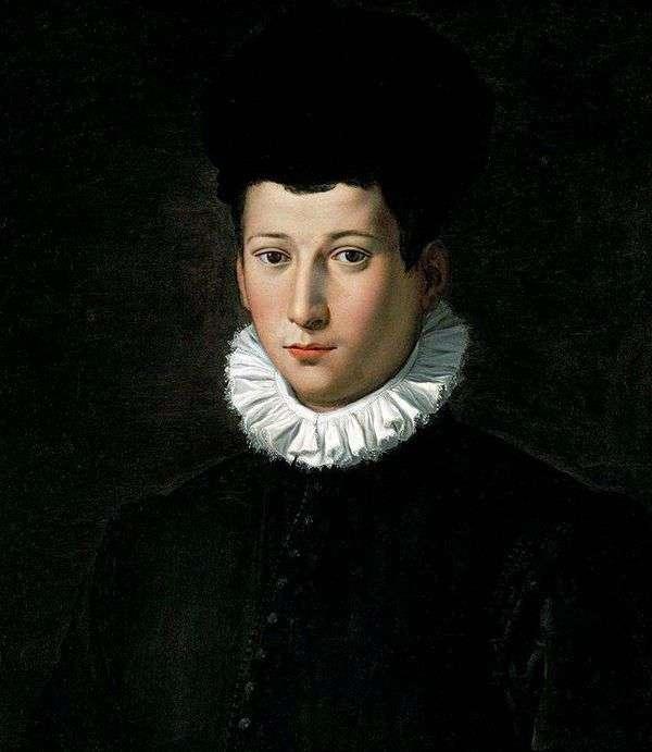 一个年轻人的画象   亚历山德罗Allori