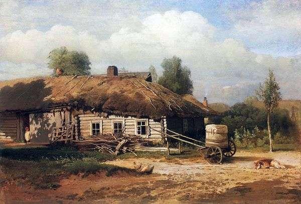景观与小屋   阿列克谢萨夫拉索夫