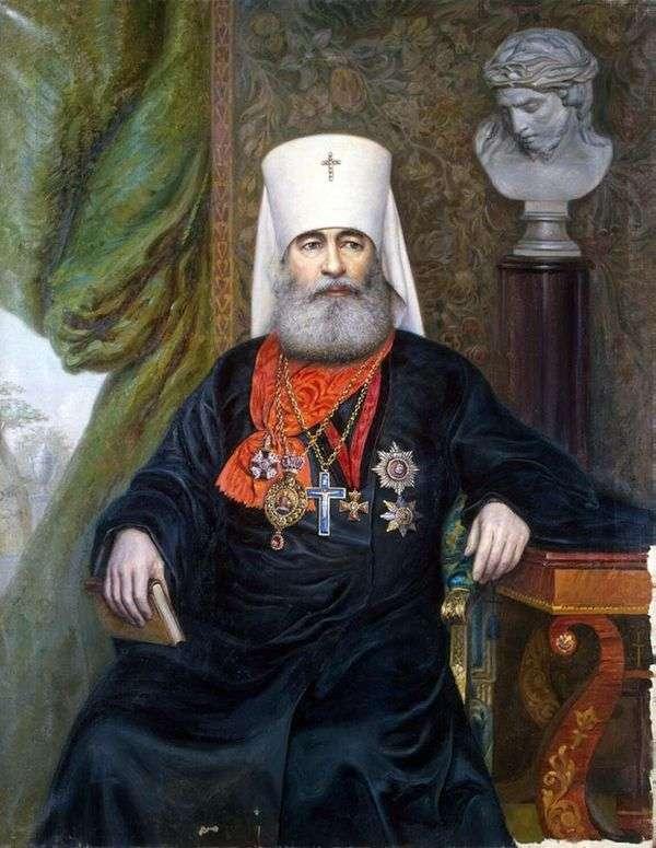 大都会安东尼的肖像   A. A. Karelin