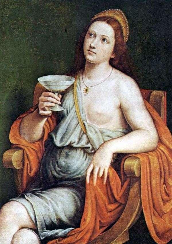 Sofonisba饮料毒药   Giovanni Francesco Caroto