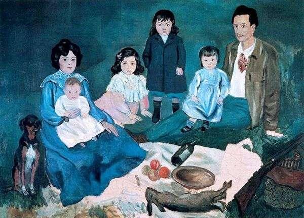 家庭Soler   Pablo Picasso
