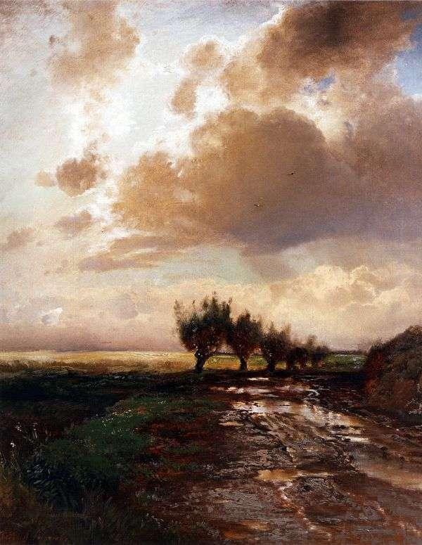 乡村小路   阿列克谢萨夫拉索夫